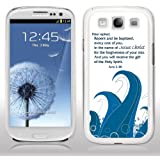 Samsung Galaxy S3 Case - Christian Theme - Acts 2:38 - White Protective Hard Case