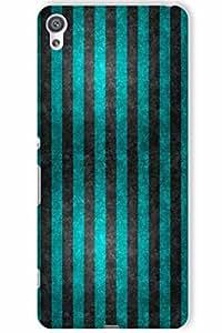 IndiaRangDe Hard Back Cover FOR Sony Xperia XA
