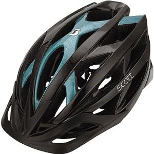 Scott Wit Contessa Damen MTB Fahrrad Helm schwarz/petrol 2013: Größe: L (59-61cm)