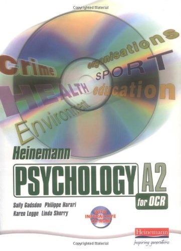Heinemann Psychology for OCR A2 Student Book with CD-ROM