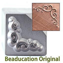 Metal Stamp Spiral Bracket