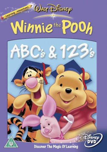 Winnie The Pooh - ABC's and 123's [DVD]