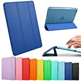 iPad Mini Case, iPad Mini Retina Case, ESR Yippee Color Series Trifold Case Smart Cover for iPad Mini with Retina Disply_ Precise Cutout for Dual microphonesl (Navy Blue)