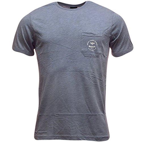 Bench -  T-shirt - T-shirt  - Basic - Maniche corte  - Uomo blu X-Large