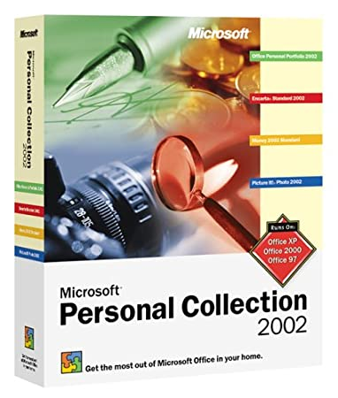 Personal Collection 2002 (Includes Personal Portfolio 2002 , Money 2002, Encarta 2002 and more)