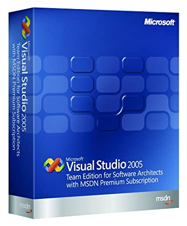 Microsoft Visual Studio Team Edition for Software Architect 2005 w/MSDN Premium Renewal [Old Version]