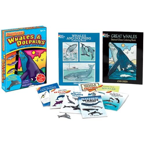 Sharks Fun Kit (Dover Fun Kits) Dover