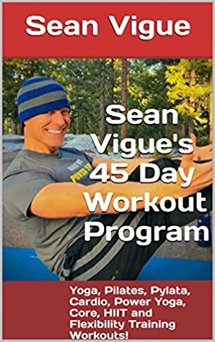 """""""Sean Vigue's 45 Day Workout Program"""" available at Amazon and iBooks!"""