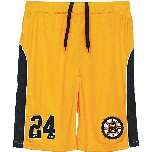 Majestic Boston Bruins Pickering Mesh Long Short-Pantaloncini sportivi Uomo    giallo Medium