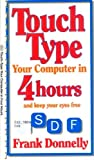 img - for Touch-Type the Keyboard in Four Hours (Quick Reference) book / textbook / text book