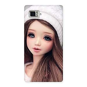 Premium Innocent Angel Doll Multicolor Back Case Cover for Vibe Z2 Pro K920