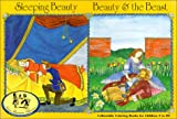 Sleeping Beauty and Beauty and the Beast: Coloringbook (NanaBanana Classics)