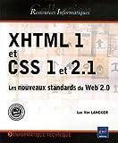 echange, troc Luc Van Lancker - XHTML 1 et CSS 1 et 2.1 : Les nouveaux standards du Web 2.0