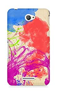 Amez designer printed 3d premium high quality back case cover for Sony Xperia E4 (Abstract Colorful 22)