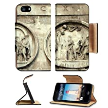 buy Italian Ancient Art Sculpture Apple Iphone 5 Flip Cover Case With Card Holder Customized Made To Order Support Ready Premium Deluxe Pu Leather 5 3/16 Inch (132Mm) X 2 11/16 Inch (68Mm) X 9/16 Inch (14Mm) Msd Iphone 5 Professional Cases Touch Id Gold Spec