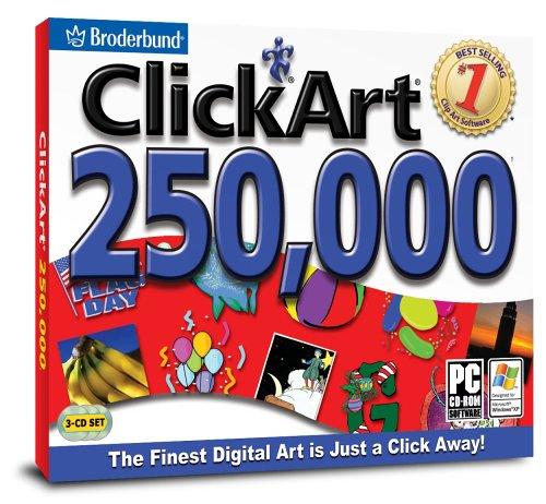 Clickart 250K (Jewel Case)