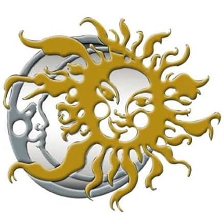 Specchio Specchiera Design Modello Sole Luna