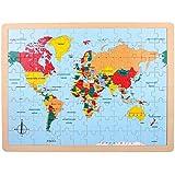 Legler - 2019654 - Puzzle En Bois - Pays Du Monde
