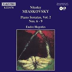 Myaskovsky: Piano Sonatas Nos. 6 - 9