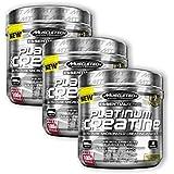 MuscleTech Platinum 100% Creatine (3 Pack)