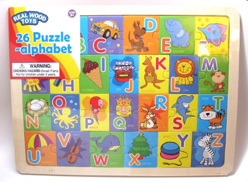 Alphabet Puzzle, 26 pieces