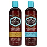 Hask Argan Oil shampoo & conditioner set 12 oz each (Tamaño: 12 Ounce (2 Pack))