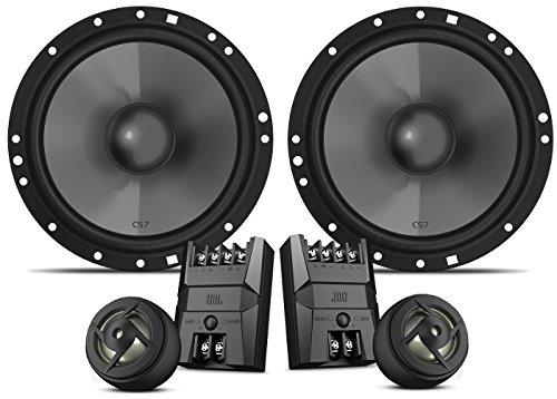 Sistema di altoparlanti per auto JBL CS760C SpeakerSystem 6-1/2', Nero con crossover