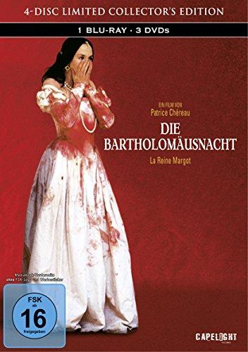 Die Bartholomäusnacht (Restaurierte Fassung) [Blu-ray] im limitierten 4-Disc Mediabook (1 Blu-ray + 3 DVDs)