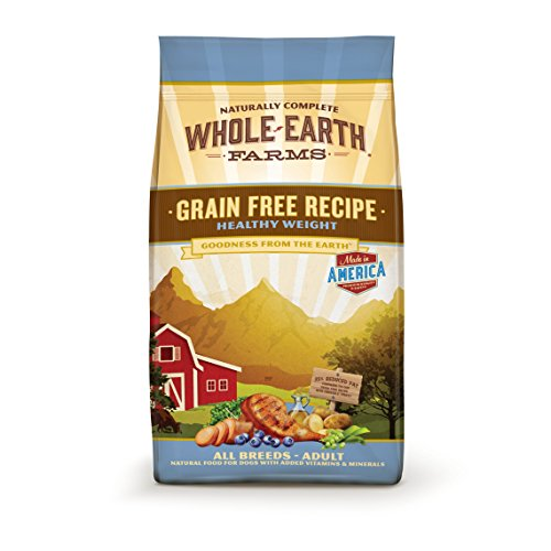 Whole Earth Farms Healthy Weight Dry Dog Food by PHILLIPS ...