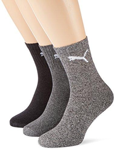 Puma-3-paires-de-Chaussettes-de-sport-Uni-Homme