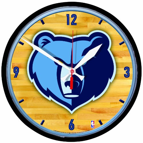 NBA Memphis Grizzlies Round Clock