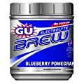GU Sports Electrolyte Brew Replacement Sports Drink - 2 lb. Canister (Blueberry Pomegrante)