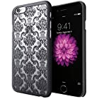 iPhone 6 Case, Cimo [Damask] Apple iPhone 6 Case Design Pattern Premium ULTRA SLIM Hard Cover for Apple iPhone 6 (4.7) - Black