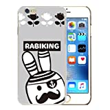 301-sanmaruichi- iPhone6s ケース iPhone6 ケース ハードケース おしゃれ ケース rabiking ラビキング ウサギ 兎 ラビット 海賊 パイレーツ ペアルック B