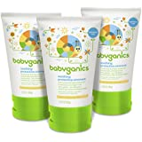 Babyganics Non-Petroleum Soothing Protective Ointment, 3.25oz Tube (Pack of 3)