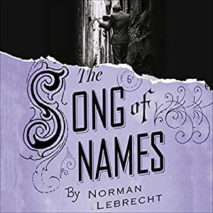 Song of Names Audiobook