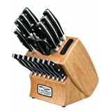 Chicago Cutlery Insignia2 18-Piece Knife Block Set with In-Block Knife Sharpener ~ Chicago Cutlery
