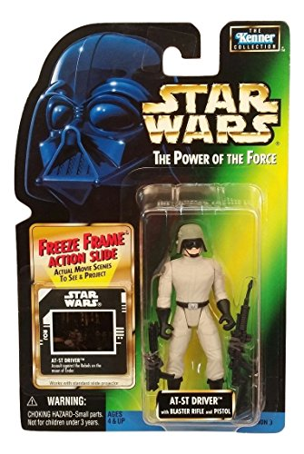 Star Wars: Power of the Force Freeze Frame AT-ST Driver Action Figure