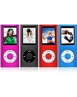 """NEW 8GB 4 ° generazione di MUSICA MP3 MEDIA PLAYER RADIO VIDEO FM 1.8 """"SCHERMO LCD (non IPOD E non supporta itunes) (Blue)"""