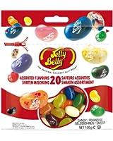 Jelly Belly 20 Sortes assorties, Sachet, 100g