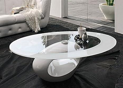 HOGAR DECORA - Mesa centro ATMOS 110x60 cm - varios colores , classics (Blanco)