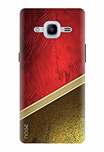Noise Designer Printed Case / Cover for Samsung Galaxy J2 - 6 (New 2016 Edition) / Patterns & Ethnic / Scarlet Silk Design