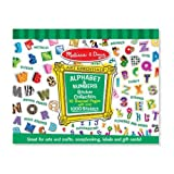 Melissa and Doug Sticker Collection - Alphabet and Numbers