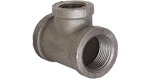 Anvil malleable iron pipe fitting reducing tee
