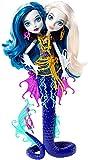 Monster High - Mu�eca de 2 cabezas marina, 23 x 33 cm (Mattel DHB47)