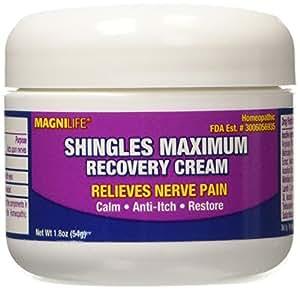 Amazon Com Magnilife Shingles Maximum Recovery Cream 1 8