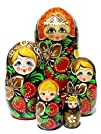 Russian Beauties Nesting Doll 5-pc 7H