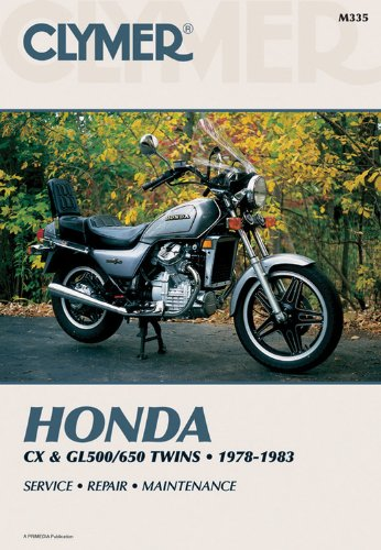 Honda Cx & Gl500/650 Twins 1978-1983 Service Repair Maintenance (Honda Gl500 compare prices)