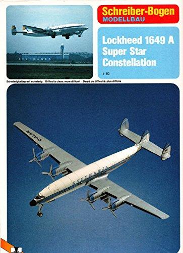 Schreiber-Bogen Lockheed Super Constellation Card Model (Lockheed Constellation Model compare prices)