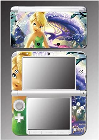 Tinkerbell Princess Fairy Queen Pixie Tinker Bell Video Game Vinyl Decal Cover Skin Protector 13 Nintendo 3DS XL